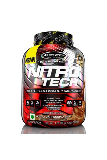 Muscletech Performance Series Nitrotech Whey Protein Peptides & Isolate