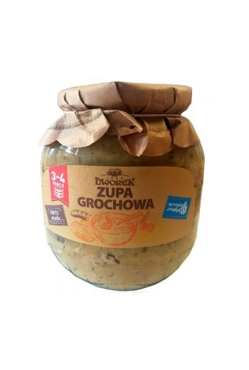 Pea soup 720ml / Zupa grochowa 720ml (qty in box8)//DWOREK