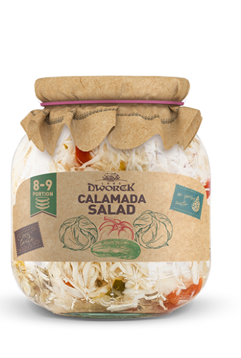 Calamada salad 720ml / Salatka calamada 720ml (qty in box 8)//DWOREK