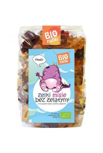 Gluten free Bio Gummies -gelatin free 400g /Bezglutenowe żelki misie bez żelatyny 400g