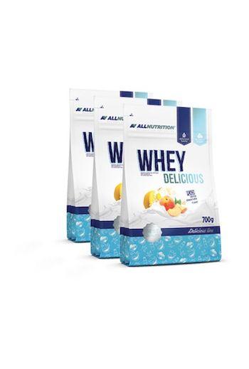 Whey Delicious Line White Chocolate & Coconut 700g/ Whey Delicious Biała Czekolada & Kokos All Nutrition