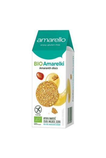 BIO Amarelki chrupiące talarki amarantusowe