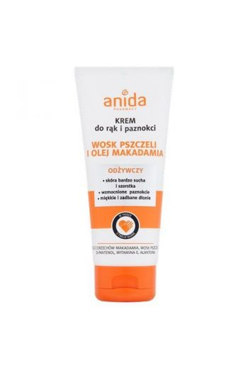Bee Wax and Macadamia Oil Hand Cream 100 ml/