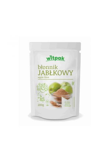 APPLE FIBRE 200G / BŁONNIK JABŁKOWY 200G (qnt in box 10)/WITPAK