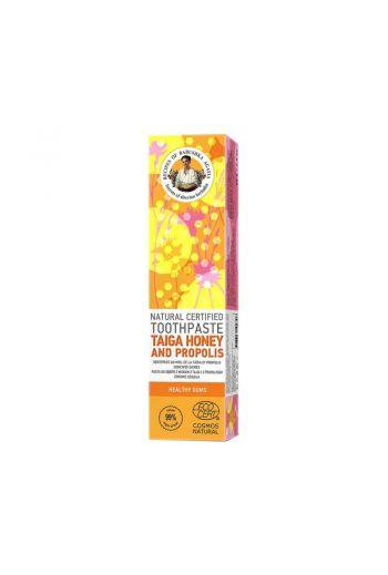 Natural toothpaste taiga honey- healthy gums/ Naturalna pasta do zębów z miodem Tajgi - zdrowe dziąsła