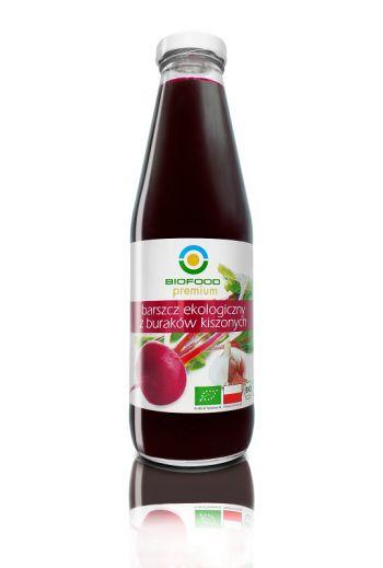 Organic pickled borscht 500ml / Organiczny barszcz kiszony 500 ml