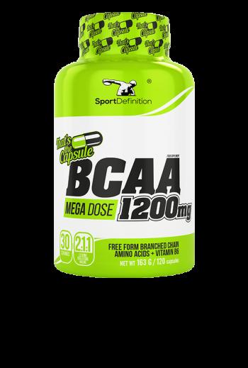 BCAA 1200mg 120 kapsułek
