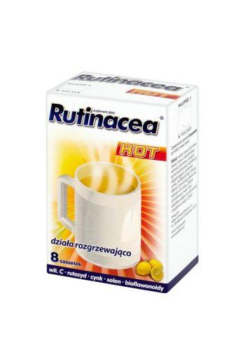 Rutinacea Hot, powder in sachets, 8 pcs. / RUTINACEA HOT 8 SASZETEK