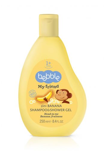 Shampoo&shower gel banana/Szampon&żel pod prysznic banan 250ml