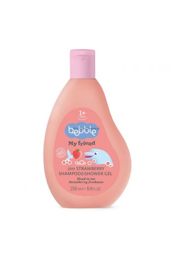 Shampoo & shower gel strawberry / Szampon & żel pod prysznic 250ml