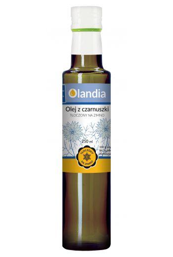 Organic black cumin oil 250ml Olandia / Olej z czarnuszki ekologiczny 250ml Olandia / Witpak (qty in the box 6)