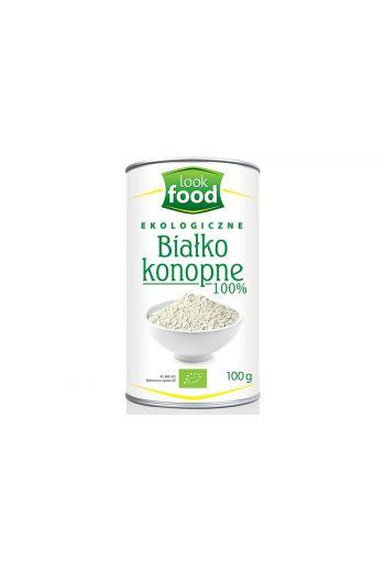 Organic  Hemp protein 100% 100g / Białko konopne ekologiczne 100% 100g
