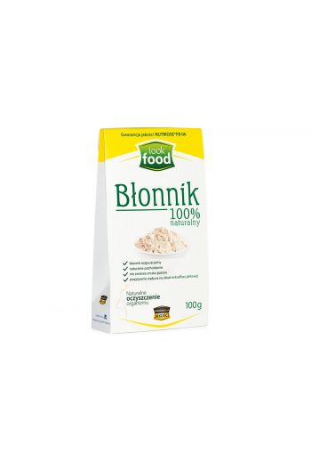 Natural Fibre 100% 100g / Błonnik 100% naturalny 100g ( qty in box 14)// LOOK FOOD