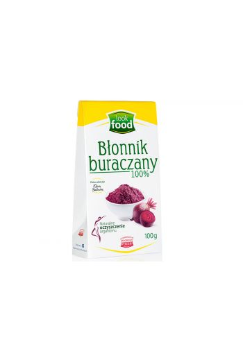 Beetroot fibre 100% 100g / Błonnik buraczany 100% 100g ( qty in box 14)|/LOOK FOOD