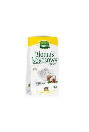 Coconut fibre 100% 100g / Błonnik kokosowy 100% 100g ( qty in box 14|)/LOOK FOOD