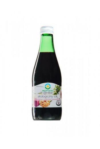 Organic juice of pickled beetroot and celery 300ml / Sok z buraków i selerów kiszonych ekologiczny 300ml