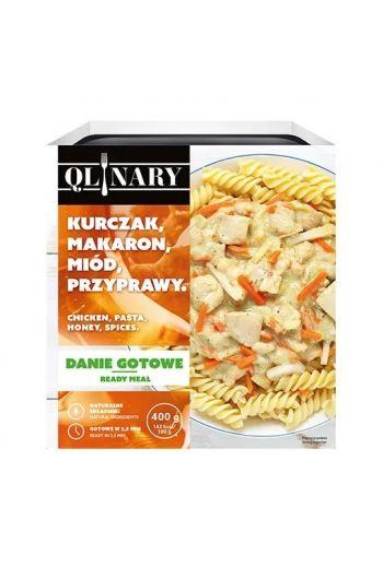 Qlinary chicken , pasta ,honey & spieces/ kurczak , makaron, miód i przyprawy 400g
