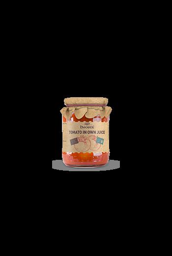 Tomato in own juice 680g / Pomidory w sosie własnym 680g ( qty in box 8) / Dworek