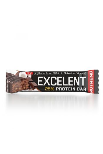 Nutrend Excelent Protein Bar 85g -Chocolate - Coconut