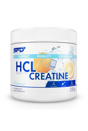 HCL CREATINE 250G LEMON / SFD