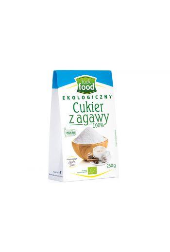Organic agave sugar 100% 250g / Cukier z agawy ekologiczny 100% 250g ( qty  in box 8 / LOOK FOOD