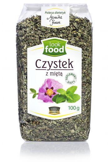 Cistus with mint 100g / Czystek z miętą 100g / LOOK FOOD