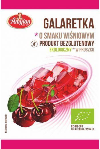 Gluten Free Cherry Jelly/Bezglutenowa galaretka o smaku wiśniowym 40g