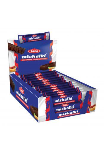 Michałki baton/ Chocolate bar with peanuts 30g 36 bars