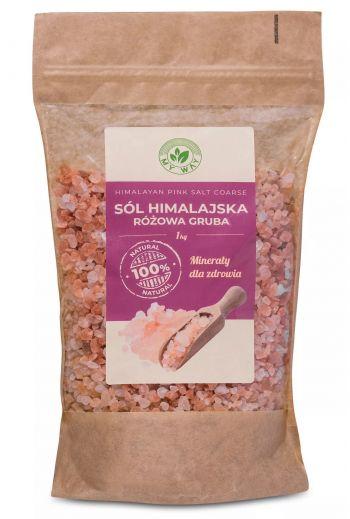 Himalayan pink salt thick 1kg MyWay /Sól himalajska różowa gruba 1kg MyWay