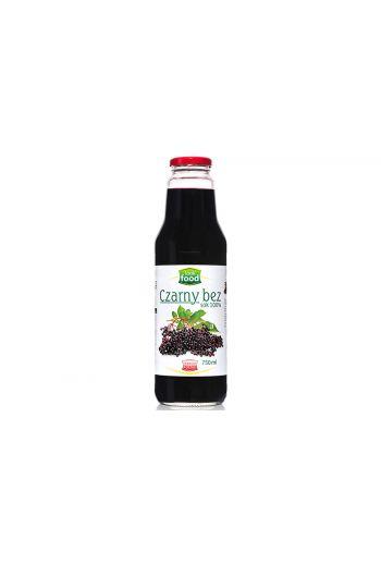 Elderberry juice 100% 750ml / Sok z czarnego bzu 100% 750ml ( qty in box 6)/LOOK FOOD