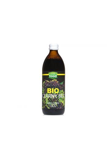 Organic Elderberry juice 500ml / Sok z czarnego bzu bio 500ml   /LOOK FOOD