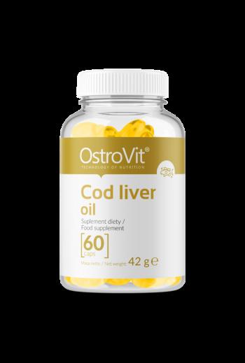 Cod Liver oil 60caps/ Tran 60caps