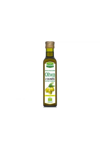 Organic extra virgin olive oil 100% 250 ml / Oliwa z oliwek ekologiczna extra virgin 100% 250ml  (qnt in box 12)  /LOOK FOOD