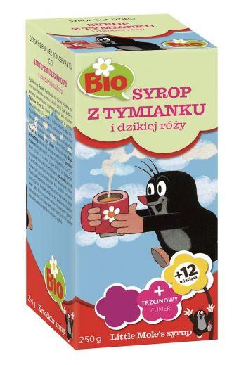 Syrup for Children with Thyme and wild rose/ Syrop z tymianku i dzikiej róży 250g
