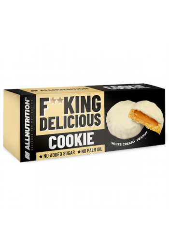 F**KING Delicious Cookie 128g White Chocolate Creamy Peanut