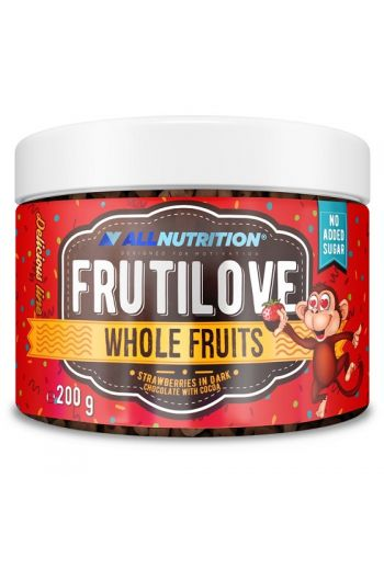 FruitLove Strawberries in dark chocolate with cocoa 200g