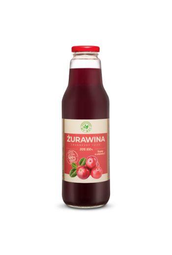 Cranberry Juice 100% 750 ml/ Sok żurawina 100% 750ml My Way