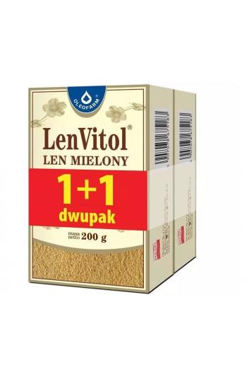 Ground flax 200g+200g / Len mielony 200g+200g / Oleofarm