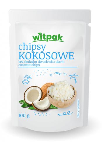 Coconut Chips 100g /Chipsy kokosowe bez dodadku dwutlenku siarki 100g