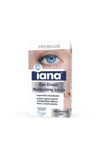 Iana Premium Eye drops 0,4% HA/ Iana Premium krople do oczu