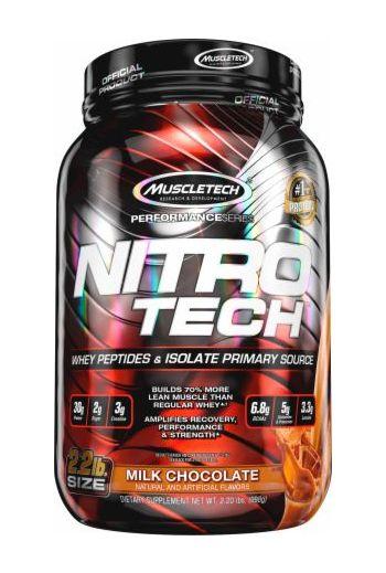 MuscleTech Nitro-Tech Protein Milk Chocolate 4.00 lbs 1.81kg