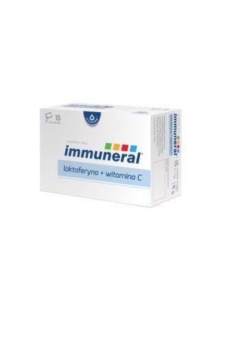 Immuneral lakoferyna +vitamin C 15 sachets / Immuneral lakoferyna +witamina C 15 saszetek / Oleofarm