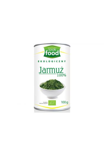 Organic kale 100% 100g / Jarmuż ekologiczny 100% 100g (qnt in box 5) /LOOK FOOD