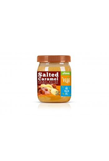 Peanut butter salted caramel/ Pasta orzechowa słony karmel 470g