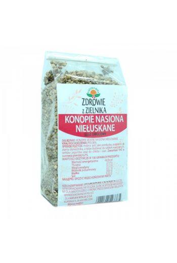 Unhusked hemp seeds 200g / Konopie nasiona niełuskane 200g