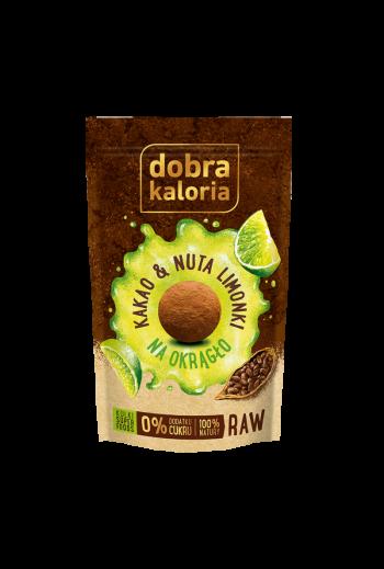 Owocowe kulki z kakao i nutą limonki 65g