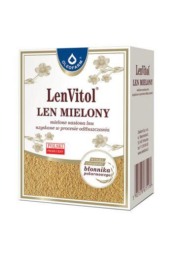 Ground flax 100g Len Vitol / Len mielony 100g Len Vitol / Oleofarm