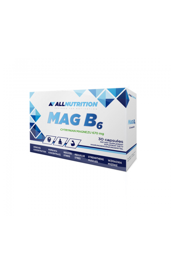 MagB6 30cap / AN / Magnesium / Magnez
