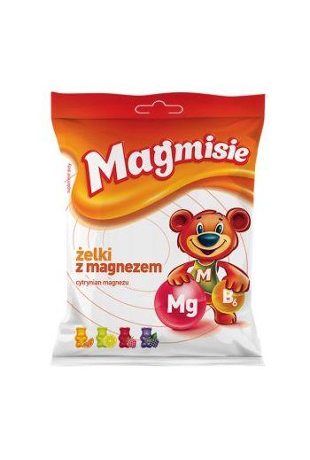 Magmisie, jelly beans with magnesium, 120g / AFLOFARM Magmisie zelki z magnezem 120g