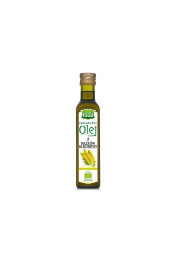 Organic maize germ oil 100% 250ml / Olej z kiełków kukurydzy ekologiczny 100% 250ml (qnt in box 12)  /LOOK FOOD